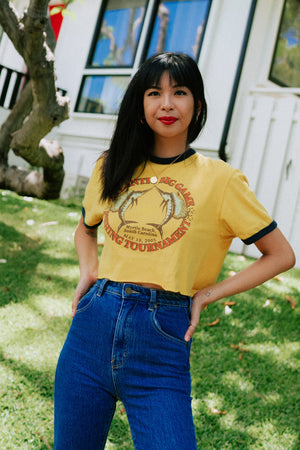 Artesia Vintage Cropped Big Game Tee
