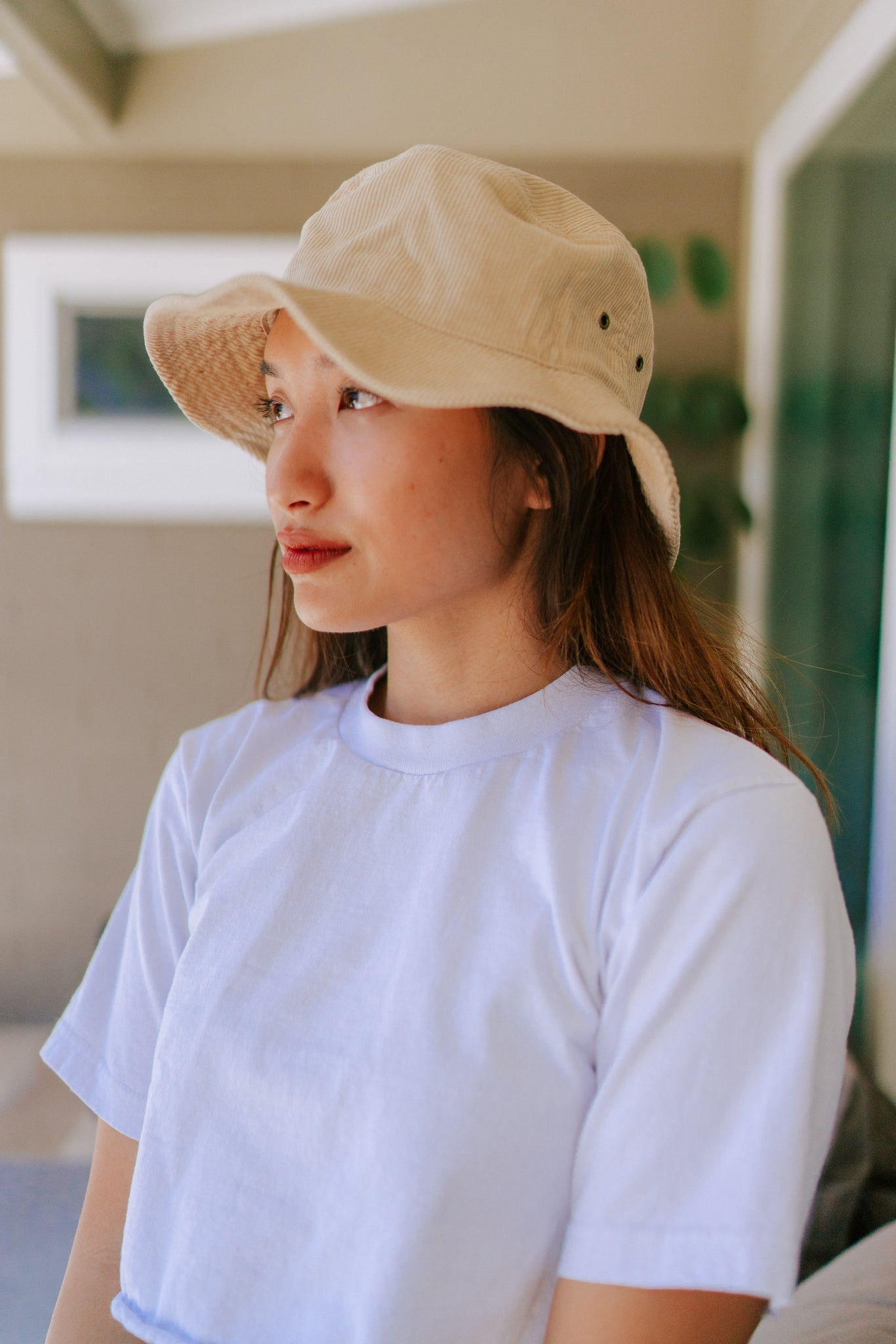 Piper Corduroy Bucket Hat - Sand