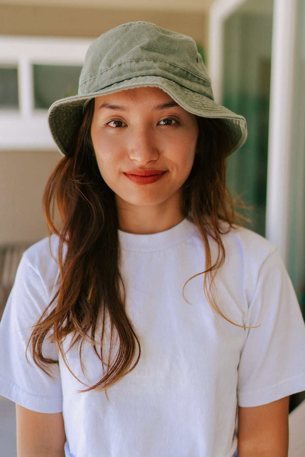 Teagan Bucket Hat - Sage