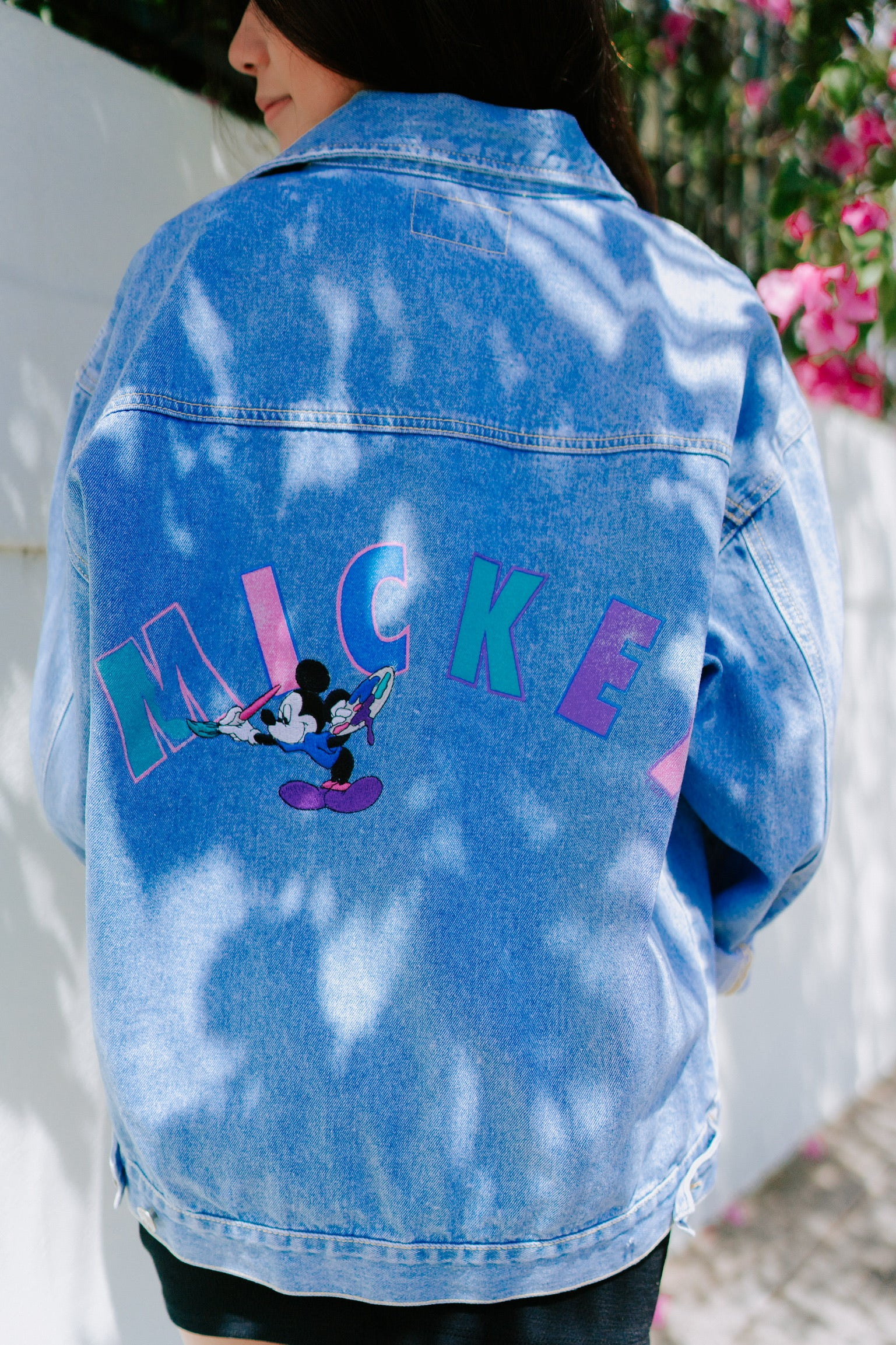 Artesia Vintage Mickey Denim Jacket