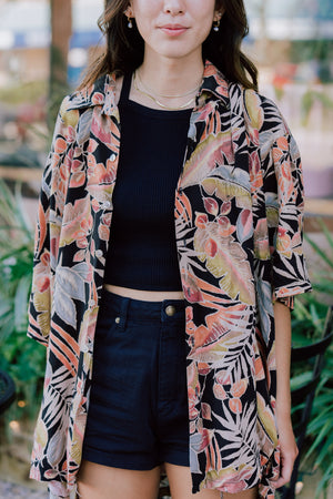 Artesia Vintage Hawaiian Oversized Shirt