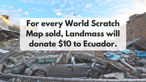 Ecuador needs your help.
