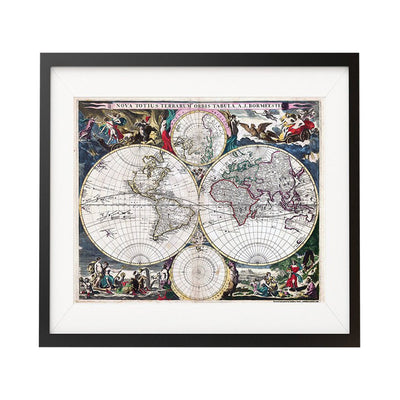1600's Map of The World