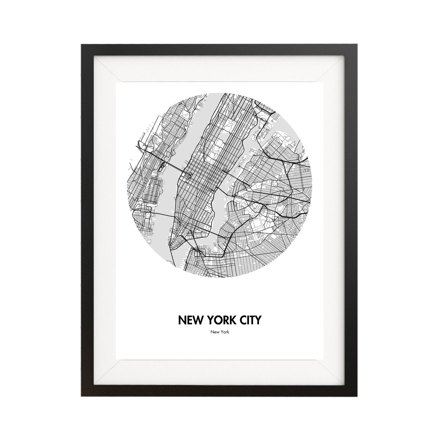The Best New York City Map Poster - Perfect Gift Ideas