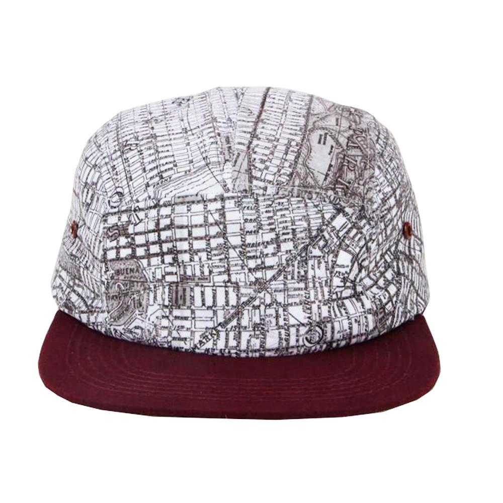 a75a60c264a Buy San Francisco Map Hat - Gift Ideas for Travelers- Now 15% Off