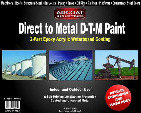 AdCoat Direct to Metal DTM Paint - 1 Gallon