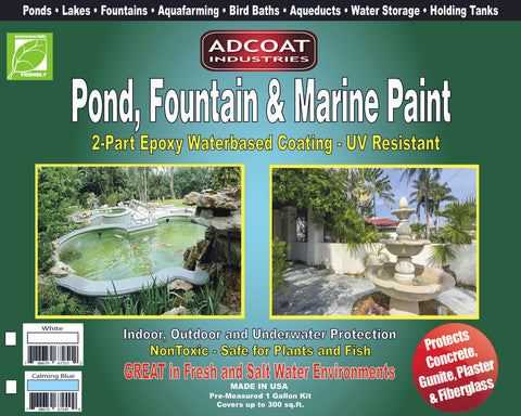 AdCoat Pond, Fountain & Marine Paint - Summer Sale