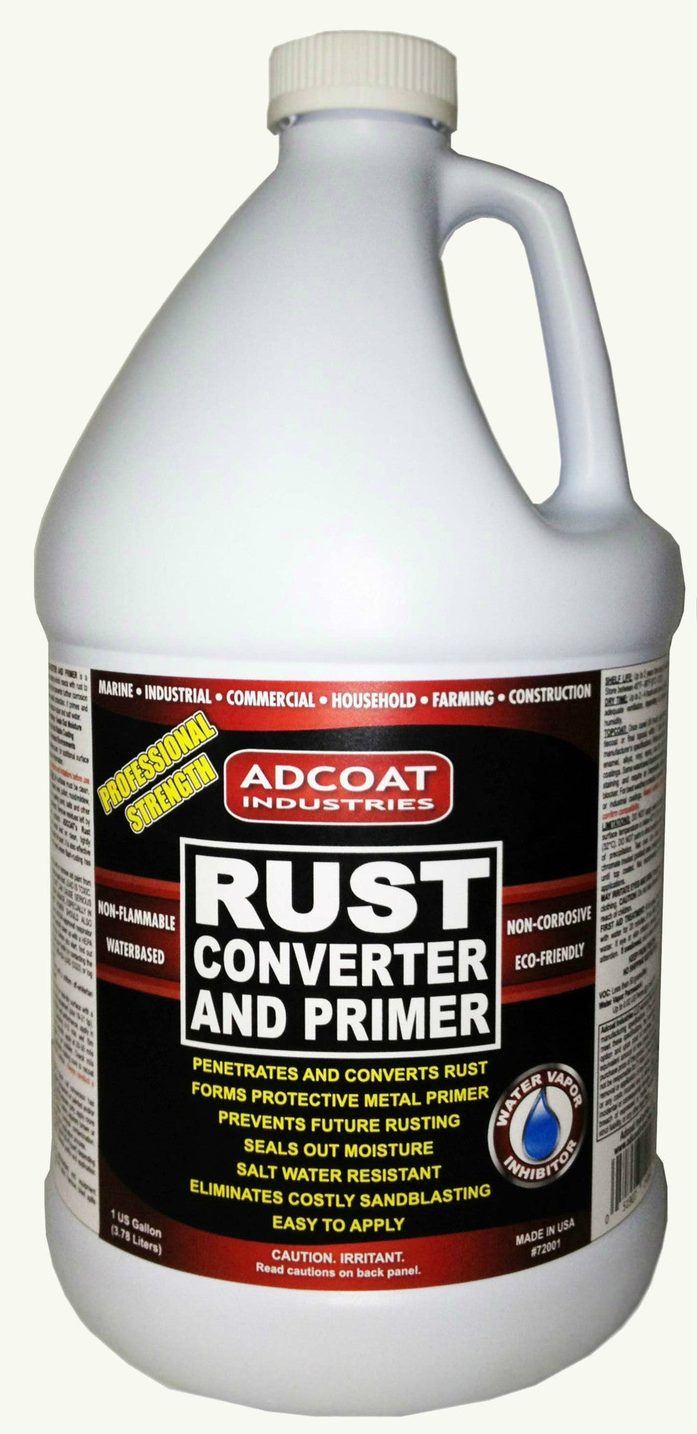 Adcoat Rust Converter And Primer 1 Gallon Adcoat