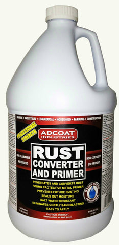 AdCoat Rust Converter and Primer - 1 Gallon