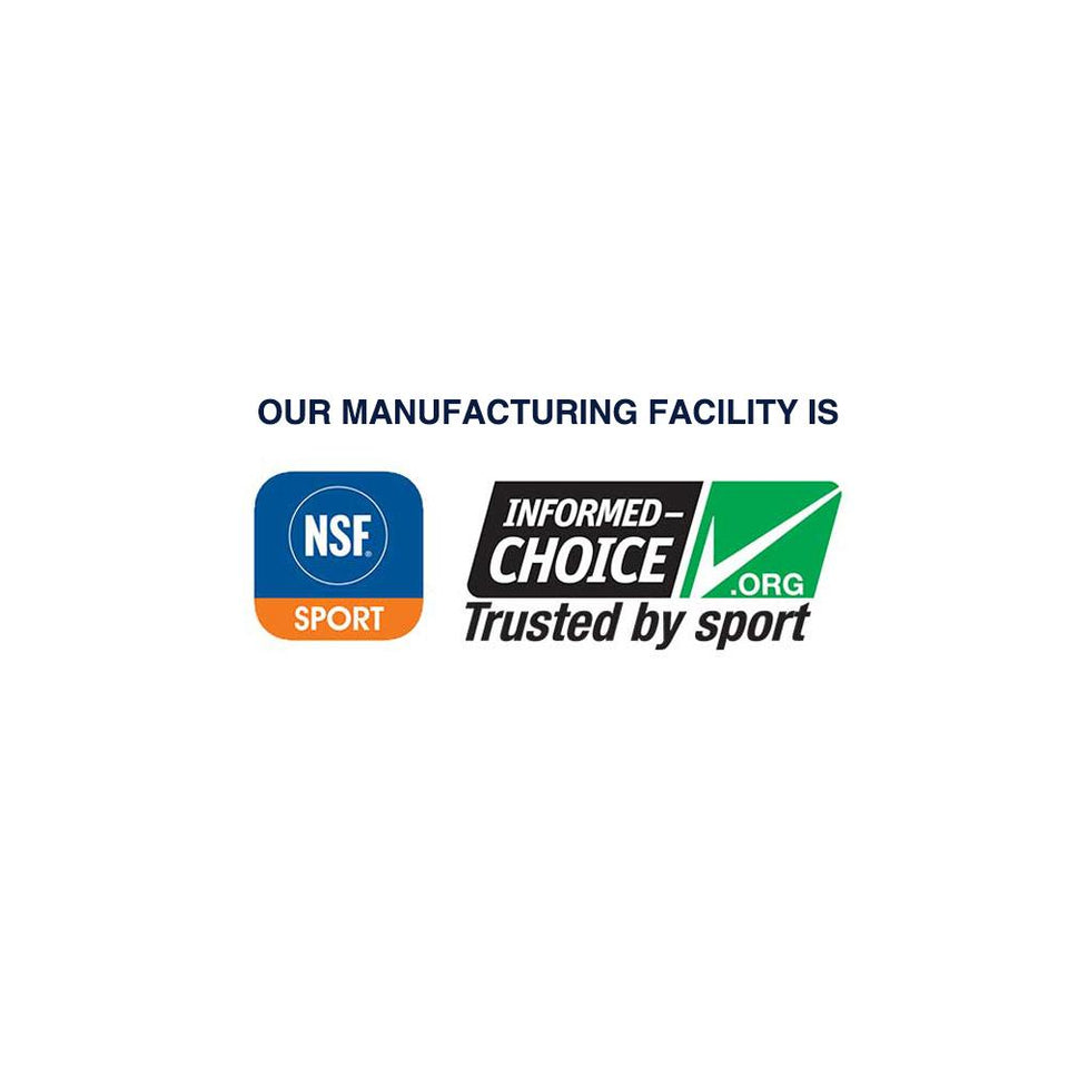 NSF for sport and Informed Choice certified manufacturing facility