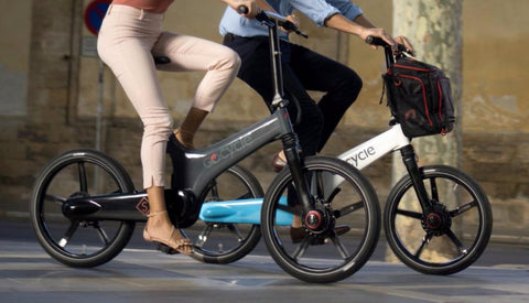 GoCycel GS folding electric bike @ Electric Bikes Brisbane