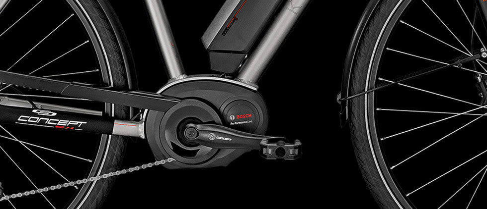 Bosch Performance line mid-drive systems for e bike