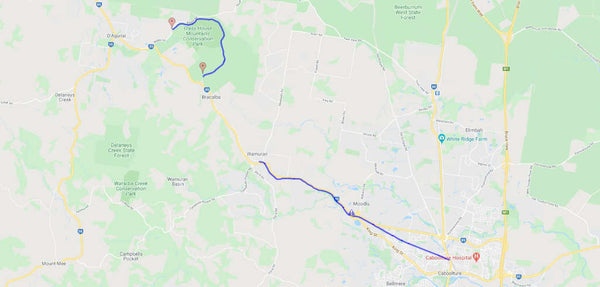 caboolture to wamuran trail map