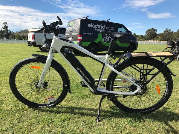 SmartMotion Catalyst electric bicycle @ Electric Bikes Brisbane