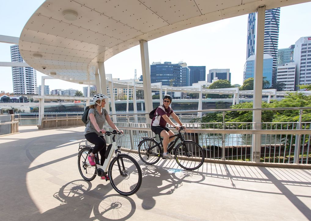 Hire and electric bike for commuting in Brisbane