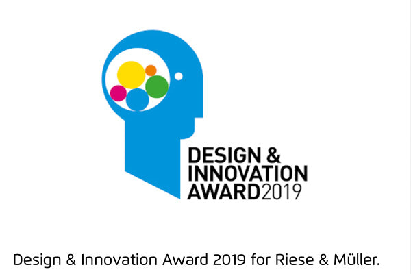 Riese & Muller wins to 2019 Design & Innovation Awards