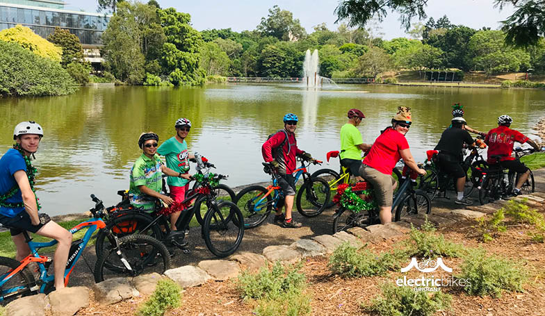 Electric Bikes Brisbane Owners Club Christmas Ride