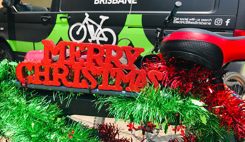Merry Christmas from Electric Bikes Brisbane