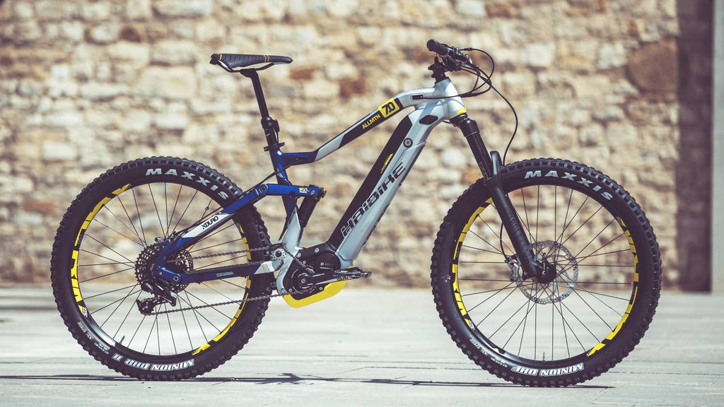 Haibike XDURO AllMtn electric mountain bike