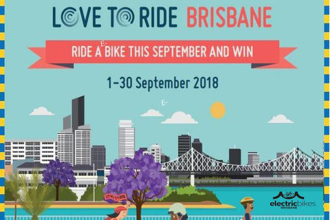 Join in the fun. Love to Ride Brisbane