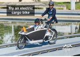Try an electric cargo bike | Electric Bikes Brisbane