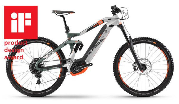 Haibike XDuro NDuro 8.0 eMTB winner ID product Design Award 2018