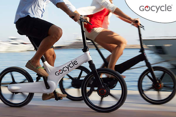 GoCycle electric bike with internal gears