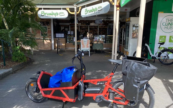 Electric bike with cargo | Electric Bikes Brisbane