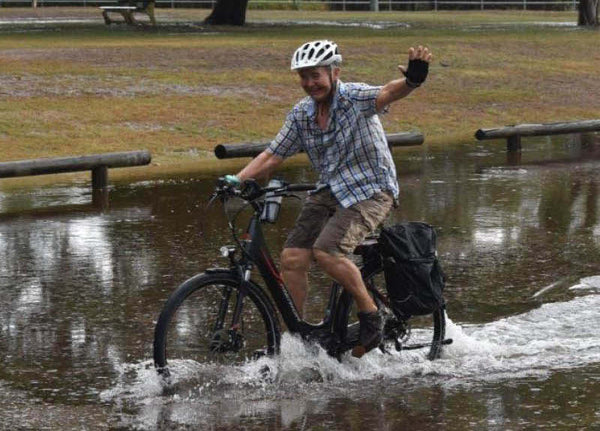 Tips for EBikes in the Rain from Electric Bikes Brisbane