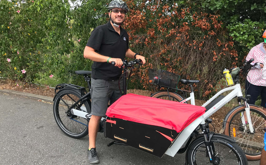 Riese & Muller Packster 60 cargo ebike - Electric Bikes Brisbane Owners Club ride