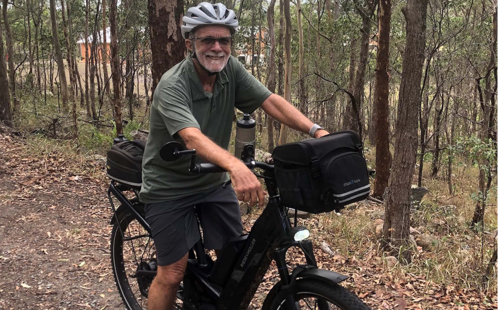 Riese & Muller Homage ebike with Dual Battery - Electric Bikes Brisbane Owners Club ride