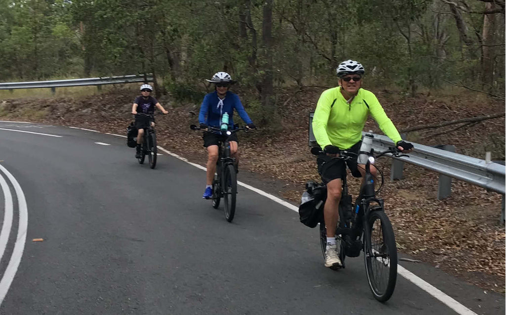Electric Bikes Brisbane Owners Club ride - Mt Coottha