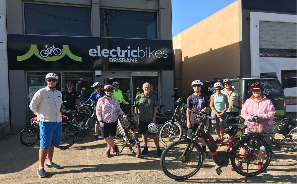 EBB Owners Club ride - starting from Electric Bikes Brisbane