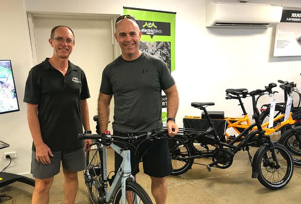 Man buying an electric bike | Electric Bikes Brisbane
