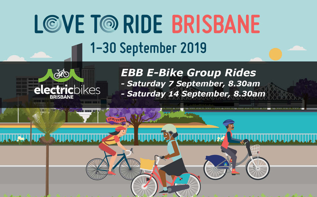 Love To vRide Brisbane group ebike rides