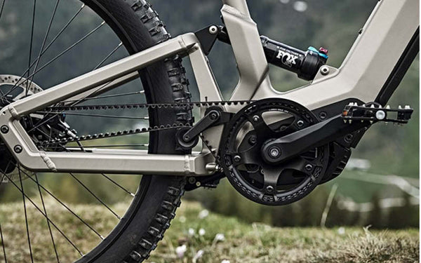 Carbon belt drive with internal gears on ebikes | Electric Bikes Brisbane Beginners Guide