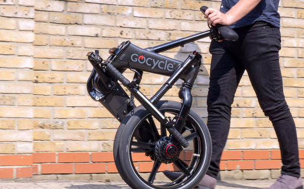 GoCycle GXi folding electric bike