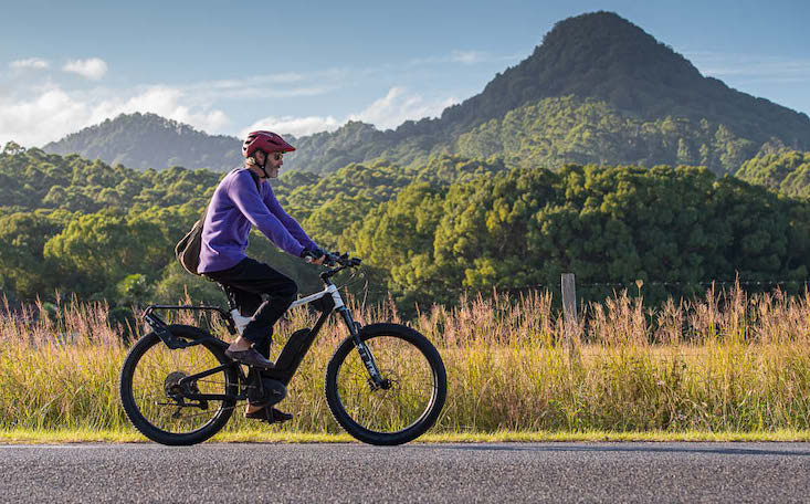 EBike rider | Electric Bikes Brisbane