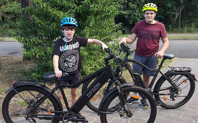 EBikes Are A Great Way to Keep My Sons Active