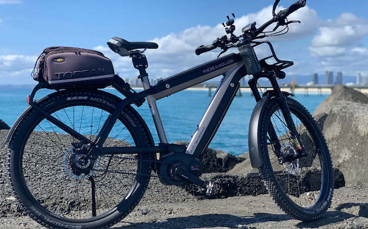 Riese & Muller Supercharger Rohloff ebike | Electric Bikes Brisbane