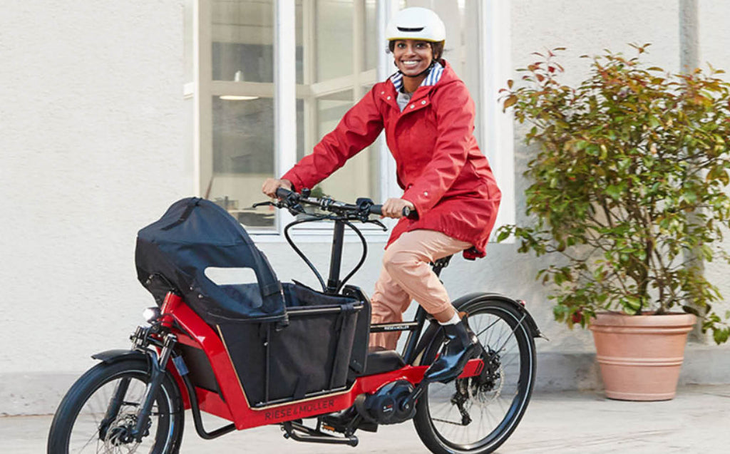 Riese & Muller Packster 40 cargo electric bike