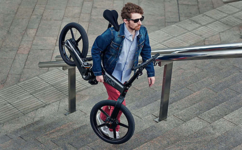 GoCycle electric bike - lightweight
