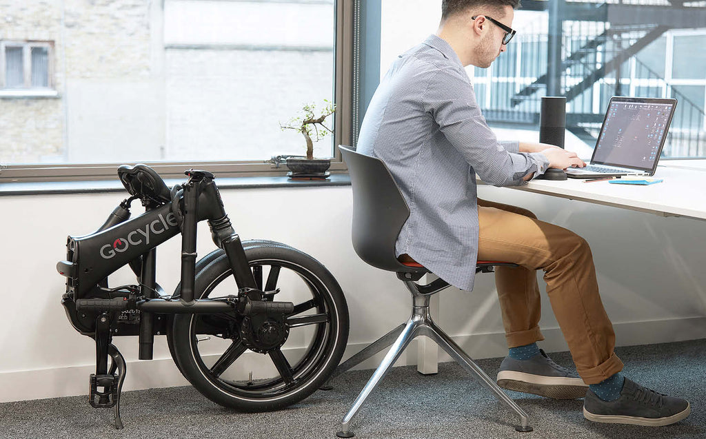 GoCycle GX folding electric bike