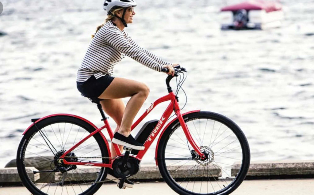 Trek Verve+ Lowstep E-Bike Coral Red