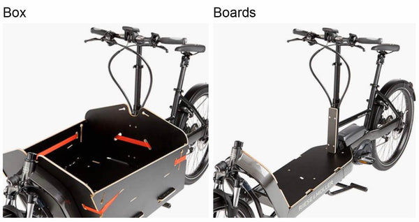 Riese & Muller Packster 80 Cargo E Bike 2020 - Box and Boards