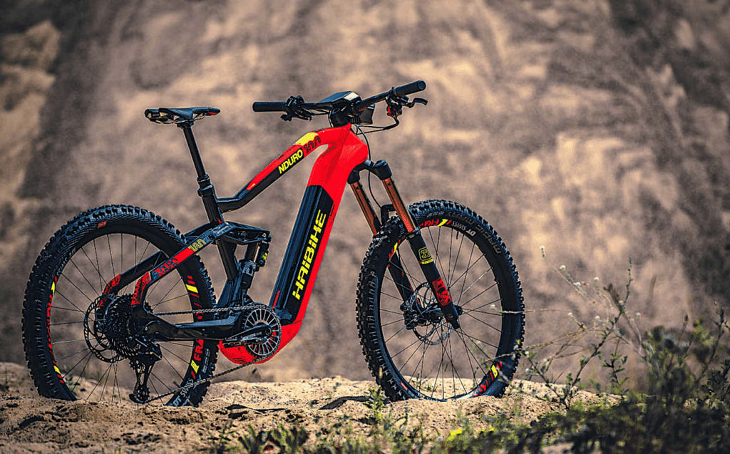 Haibike Flyon electric mountain bike