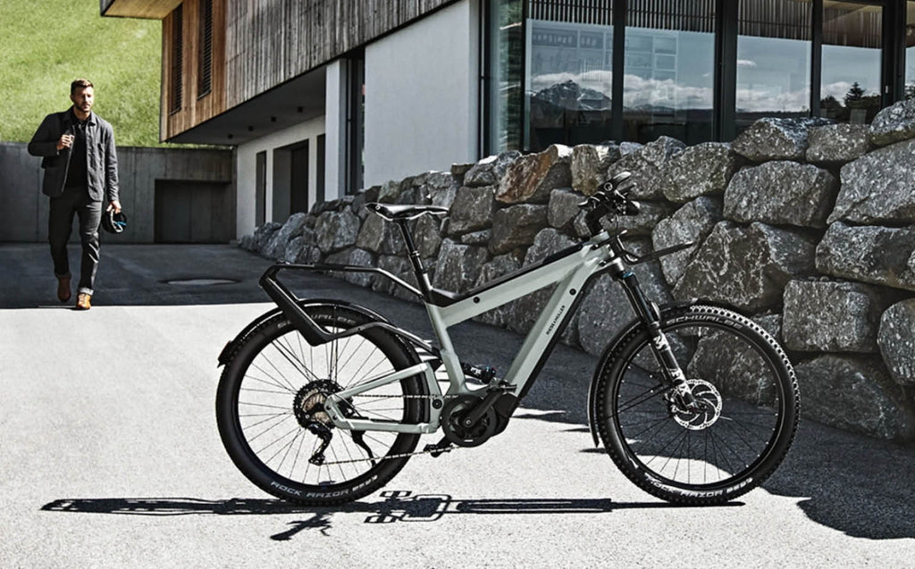 Riese & Muller Superdelite electric bike with Control Technology