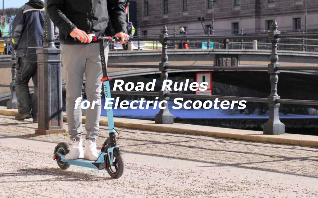 Road Rules for Electric Scooters