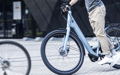 Orbea Optima E40 stepthrough electric bike