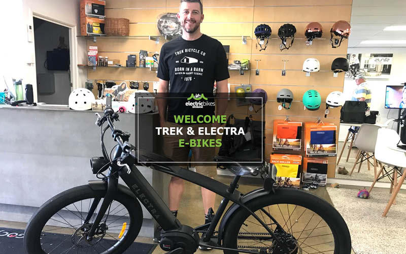 Trek and Electra: Two icons join Electric Bikes Brisbane